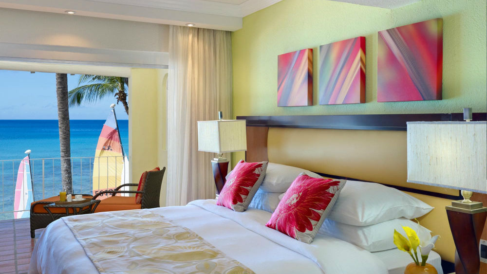 Oceanfront Room at the Tamarind by Elegant Hotels