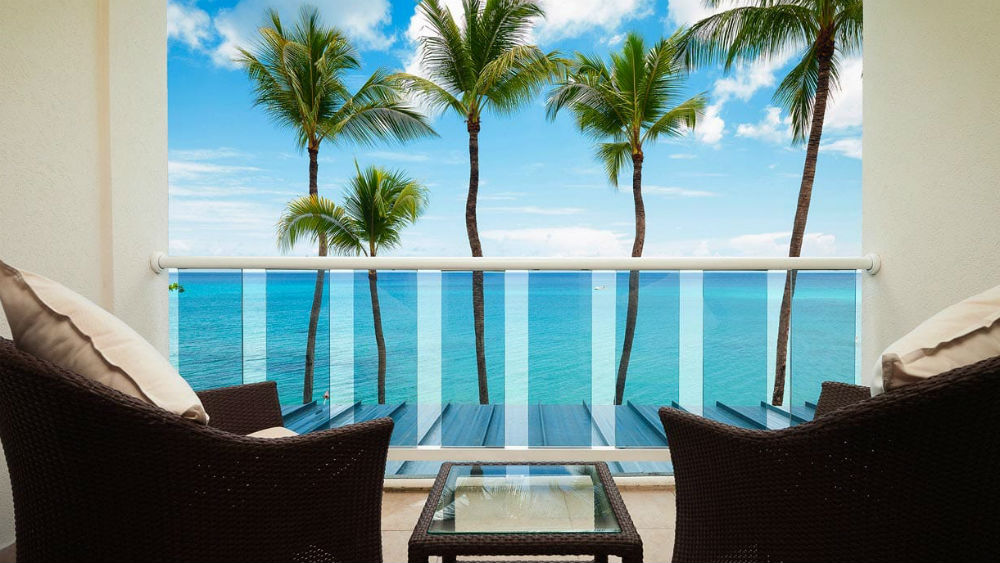 Oceanview Room at the Waves Hotel & Spa by Elegant Hotels