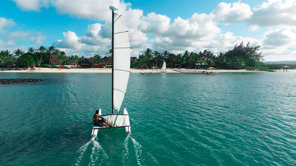 Sailing at Constance Prince Maurice