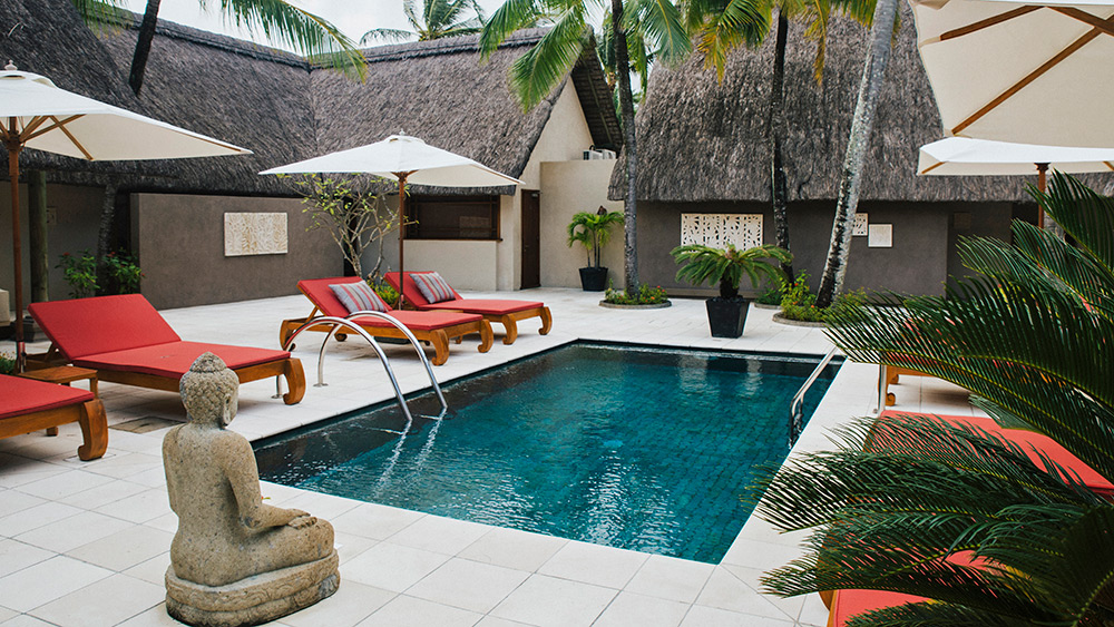 Pool in the Spa at Constance Prince Maurice