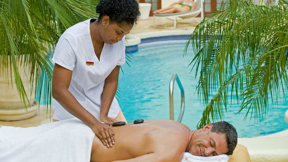 Spa massage at the Tamarind by Elegant Hotels
