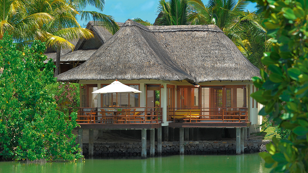 Exterior of the Villa on Stilts at Constance Prince Maurice