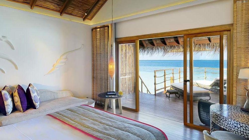 Water Villa at the Constance Moofushi Maldives