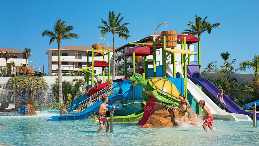 Kids Club waterpark at Dreams Playa Mujeres