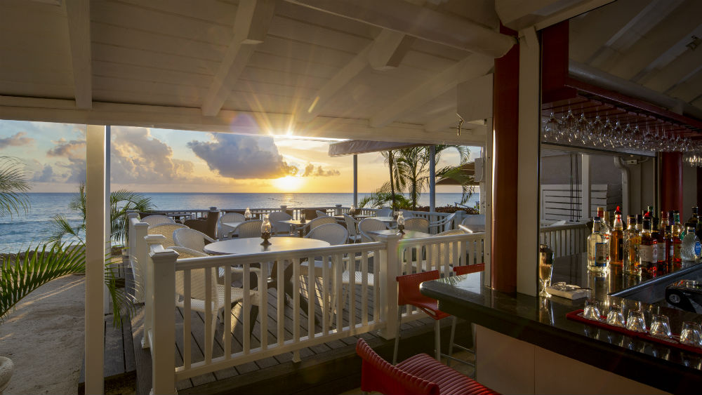 club-beach bar at The Club Barbados Resort & Spa, Barbados