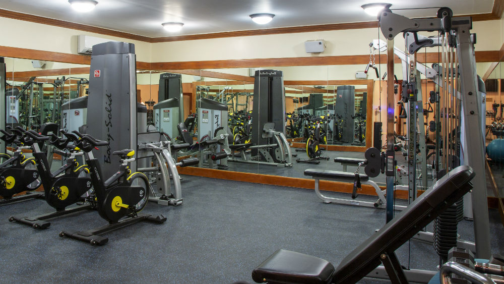 club gym at The Club Barbados Resort & Spa, Barbados