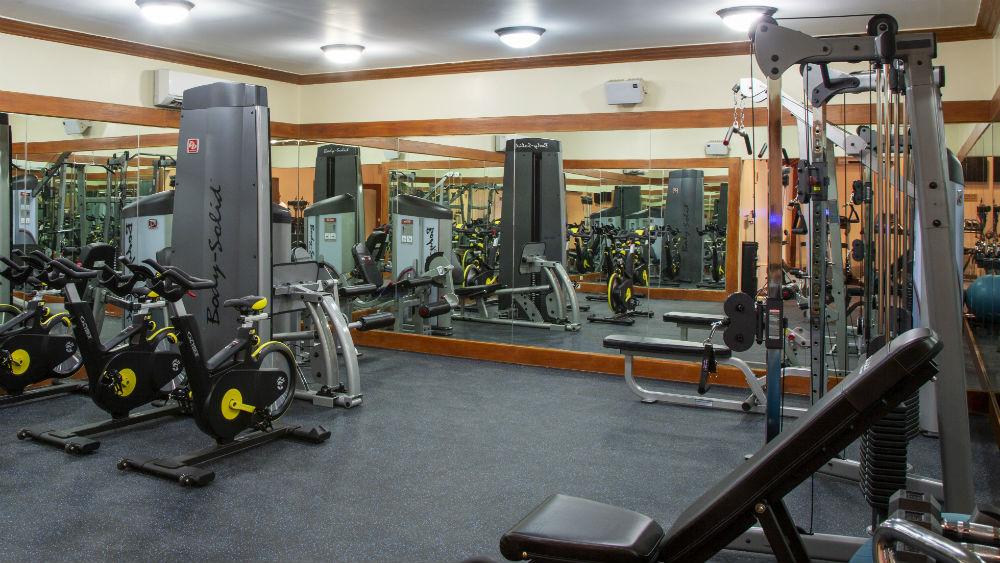 club gym at The Club Barbados Resort & Spa, Barbados