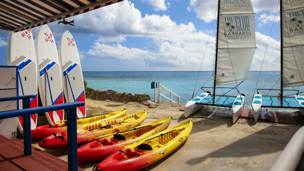 club water sports at The Club Barbados Resort & Spa, Barbados