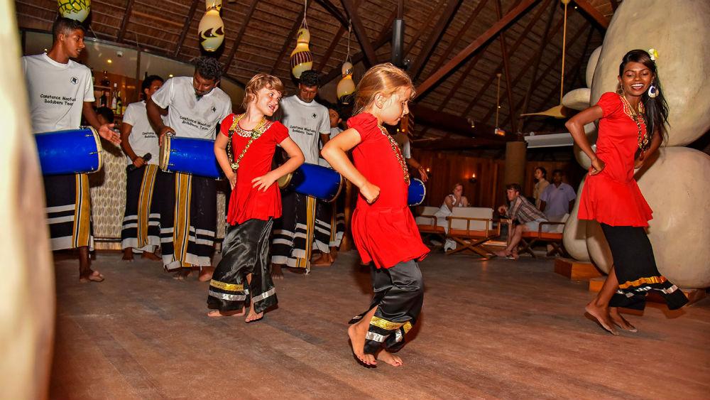 kids club at the Constance Moofushi Maldives