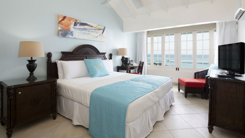 Ocean loft room at The Club, Barbados Resort & Spa