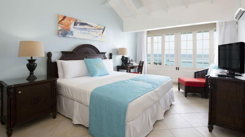 Ocean loft room at The Club, Barbados Resort & Spa