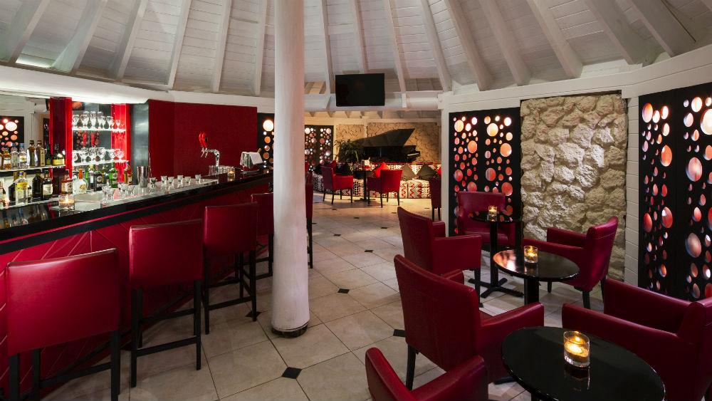 Piano bar at The Club Barbados Resort & Spa, Barbados