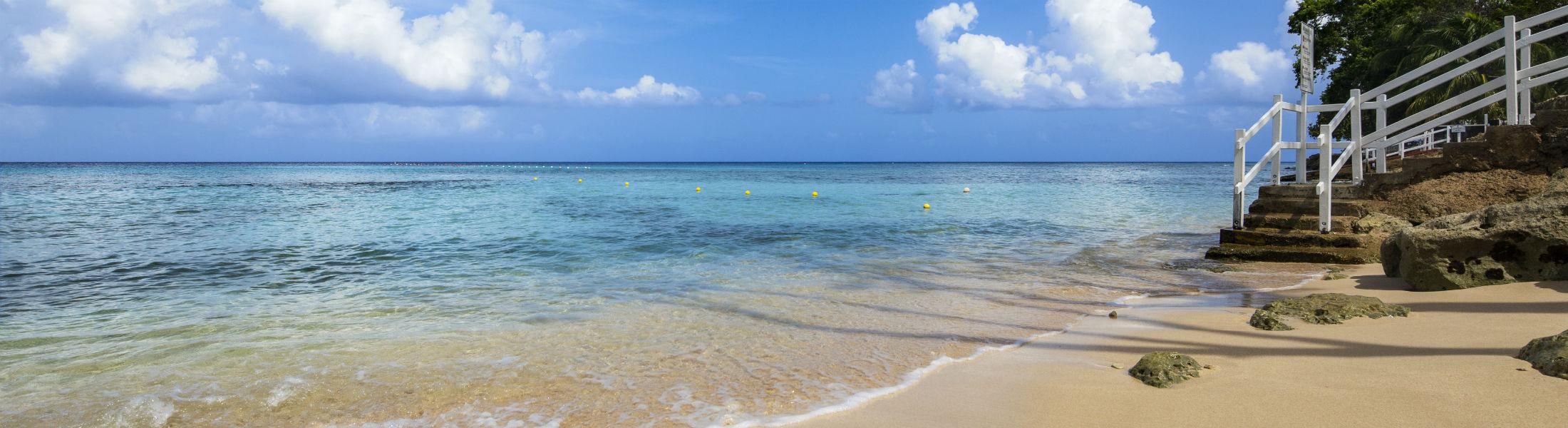 Sandy beach at The Club Barbados Resort & Spa, Barbados