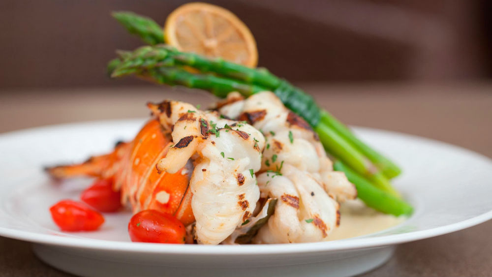 seafood dish at the Tamarind by Elegant Hotels