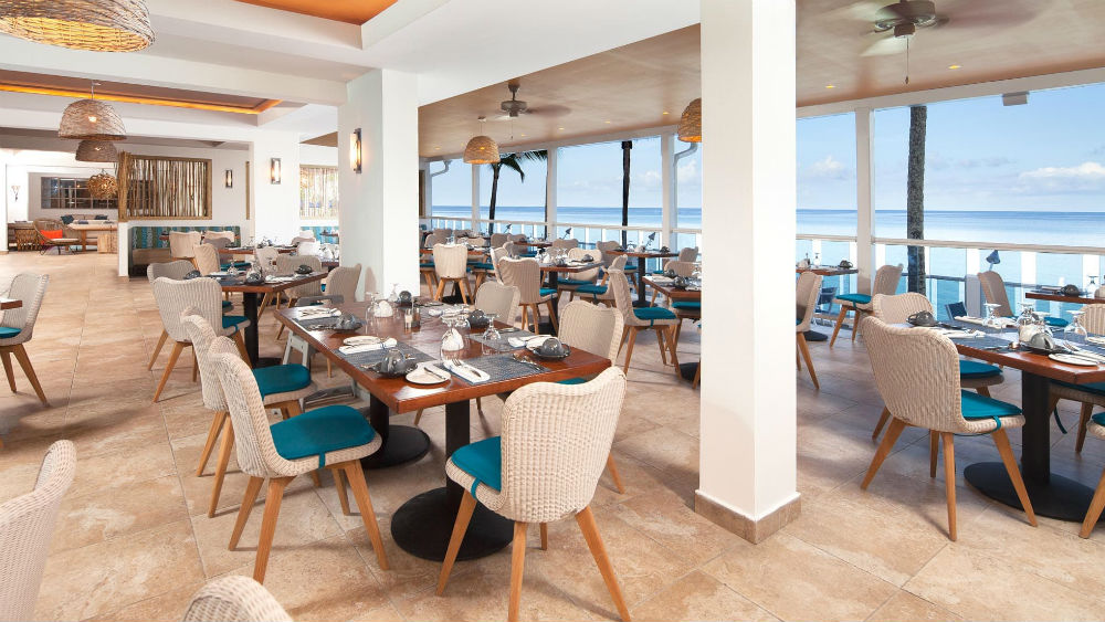 Waves restaurant at the Waves Hotel & Spa by Elegant Hotels