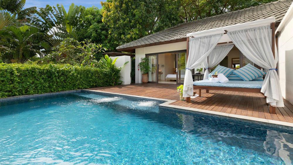 1 bedroom Spa pool villa at the Outrigger koh samui beach resort