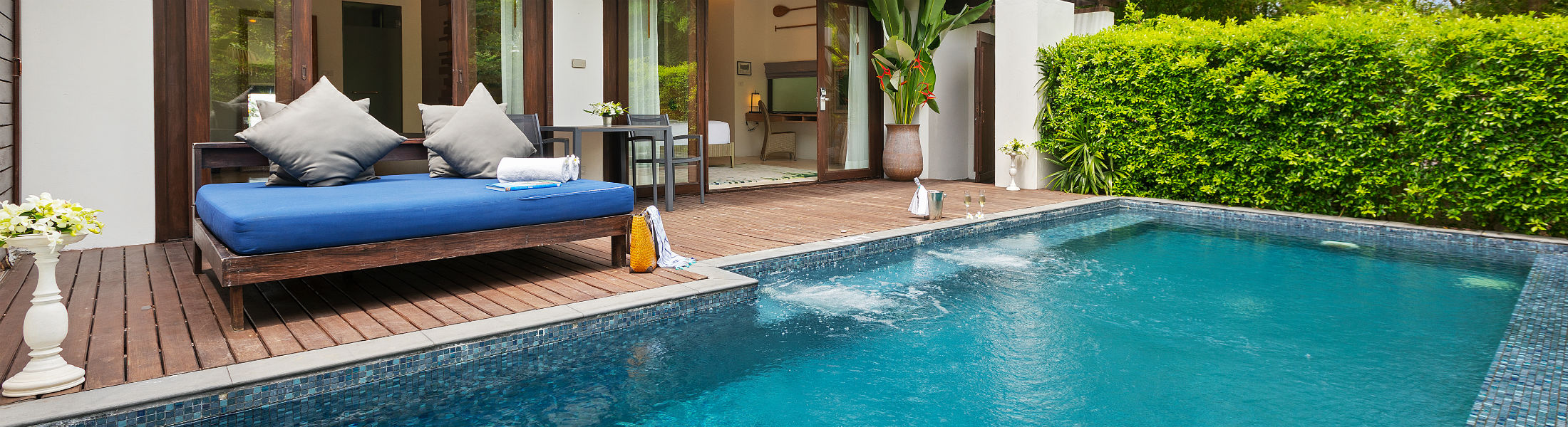 1 bedroom pool villa at the Outrigger koh samui beach resort