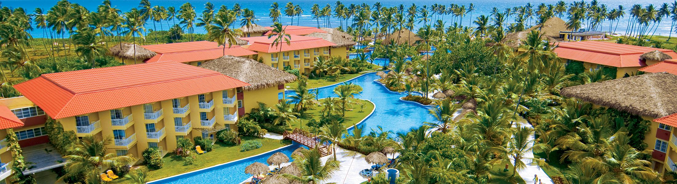 Aerial view of Dreams Punta Cana