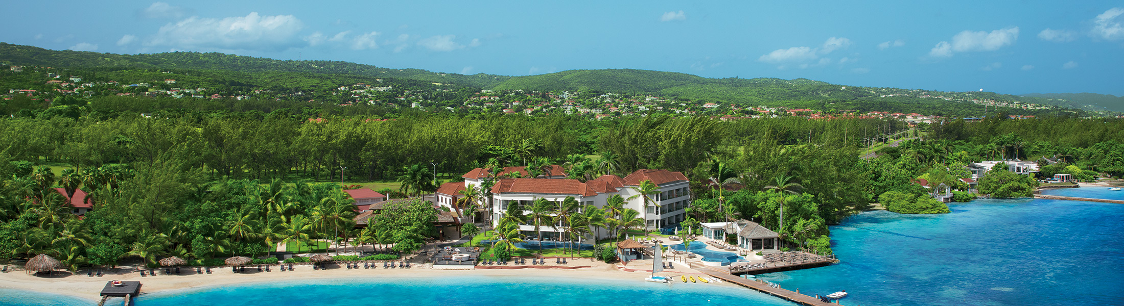 Aerial view of Zoetry Montego Bay