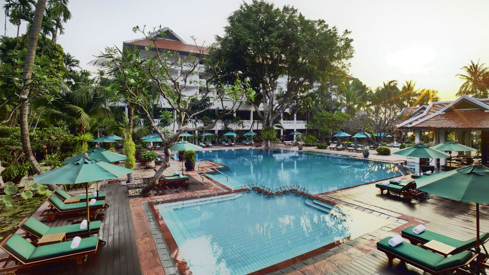 Anantara Bangkok Riverside Pool at the Anantara Riverside Bangkok