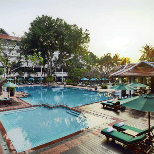 Anantara Bangok Riverside Pool at the Anantara Riverside Bangkok