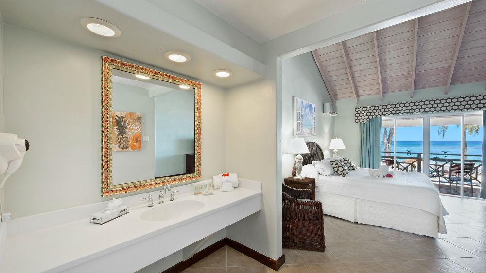 Beachfront room at the Pineapple Beach Club, Antigua