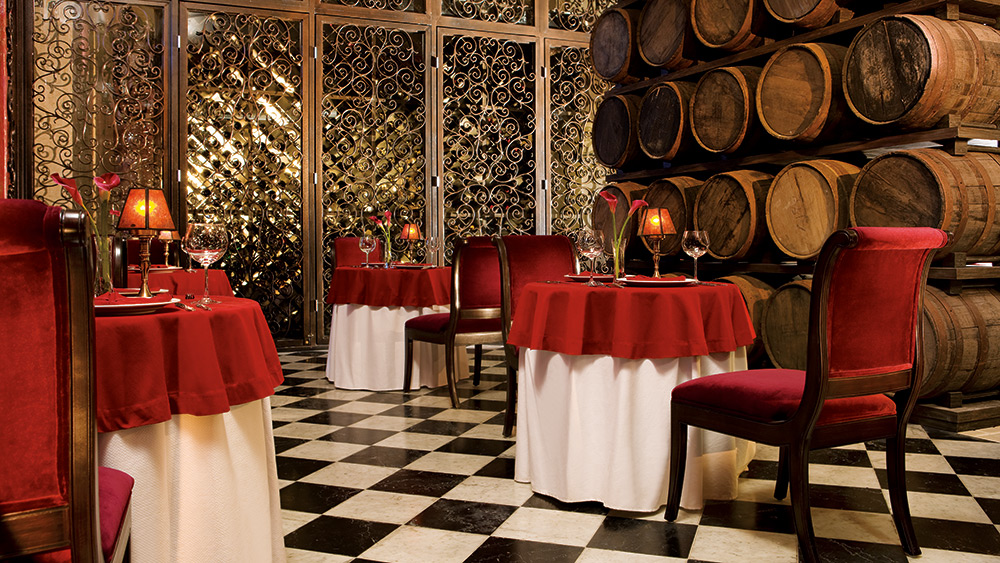 Dining in Bordeaux Restaurant at Secrets Maroma Beach Riviera
