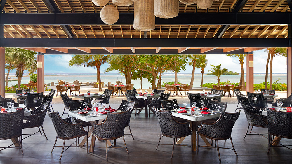 Dining area of Coyaba Restaurant at Zoetry Montego Bay