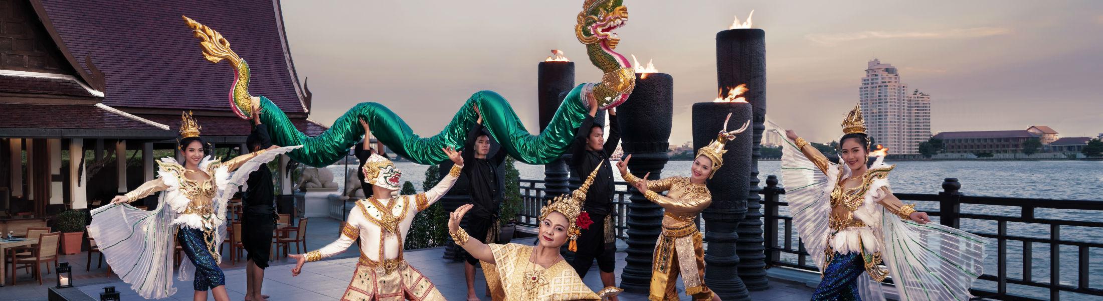 Cultural Show at the Anantara Riverside Bangkok Resort