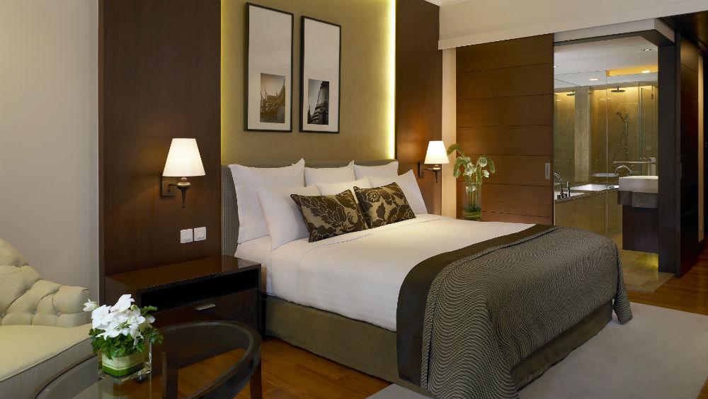 Deluxe River View Room at the Anantara Riverside Bangkok Resort