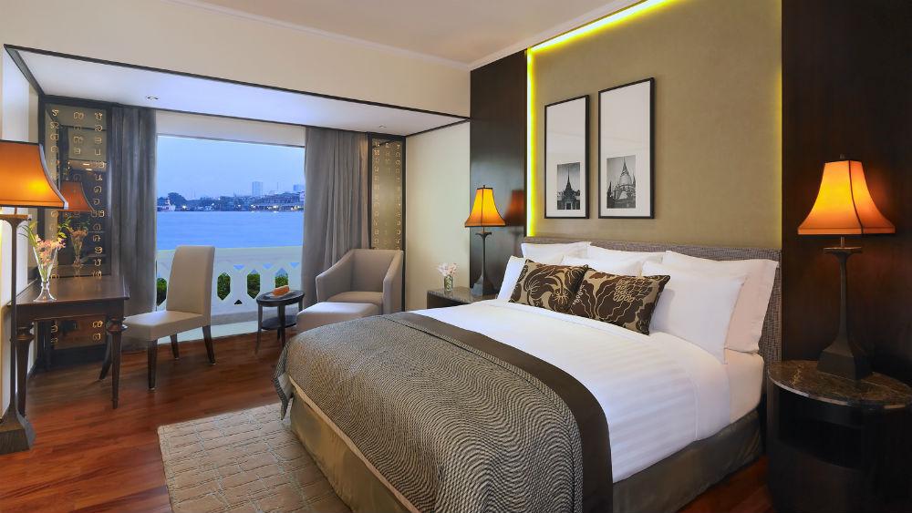 Deluxe Riverfront Room at the Anantara Riverside Bangkok Resort