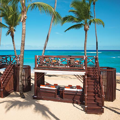 Beach Lounge at Dreams Punta Cana