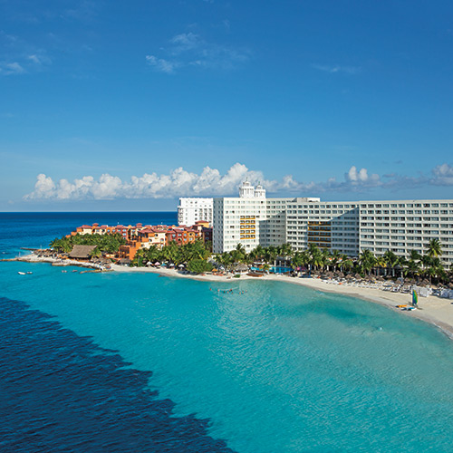 Aerial view of Dreams Sands Cancun Resort & Spa