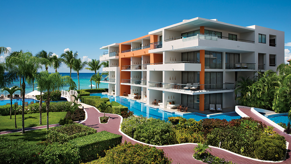 Exterior of Secrets Aura Cozumel Resort