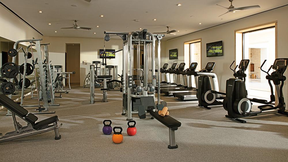 Fitness Centre at Secrets Akumal