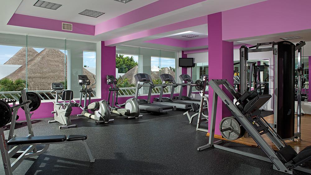 Fitness Centre at Secrets Aura Cozumel