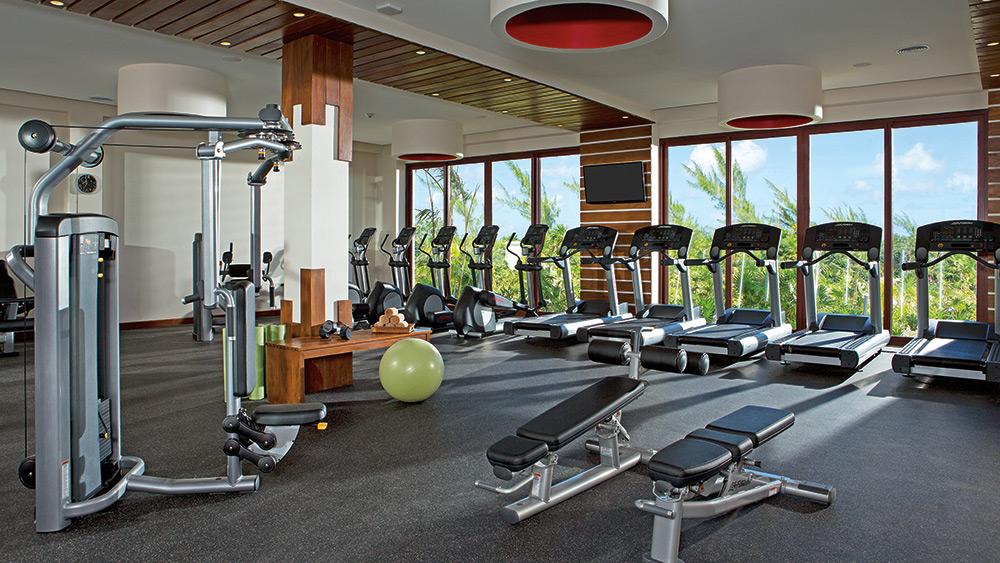 Fitness Centre at Secrets Playa Mujeres