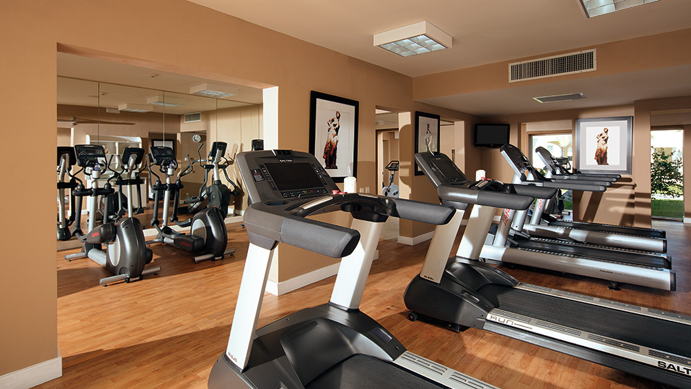Fitness centre at Secrets Royal Beach