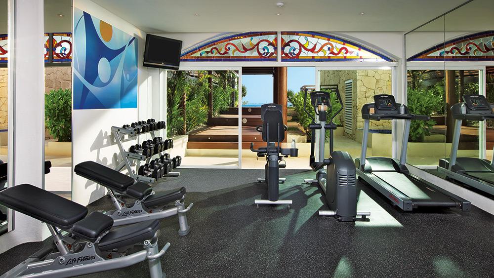 Fitness Centre at Zoetry Villa Rolandi Isla Mujeres