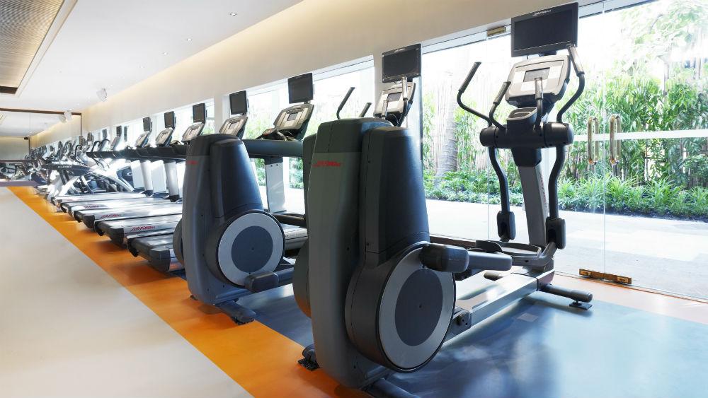 Fitness Club at the Anantara Riverside Bangkok Resort