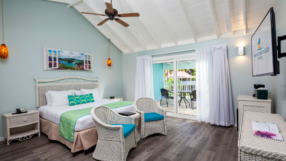 Garden View Room at the Pineapple Beach Club, Antigua