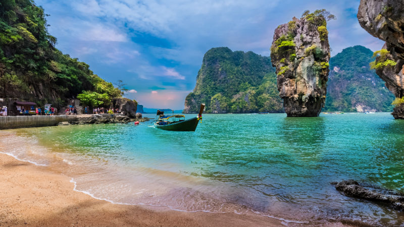 James Bond island and famous Khao Phing Kan