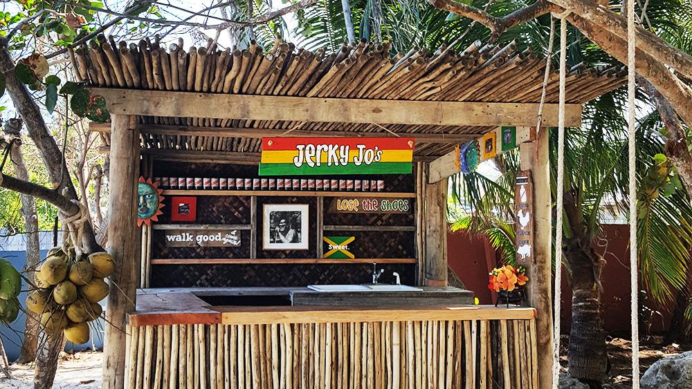Jerky Joe's beach restaurant at Zoetry Montego Bay