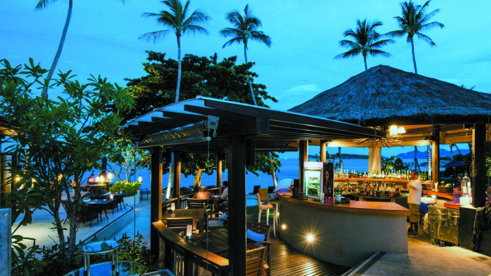 Koh Samui Beach Resort Wet Bar at the Outrigger koh samui beach resort