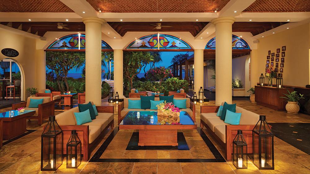 Lobby of Zoetry Villa Rolandi Isla Mujeres