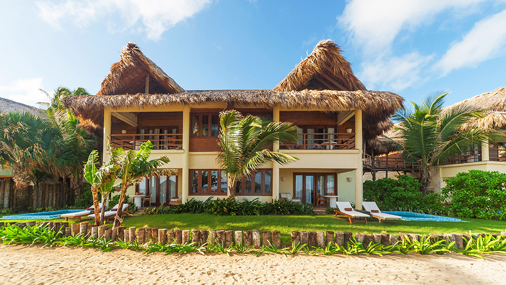 Ocean front suites with a private pool at Zoetry Agua Punta Cana