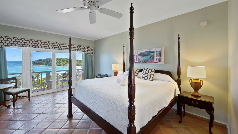 Oceanview Rooms at the Pineapple Beach Club, Antigua