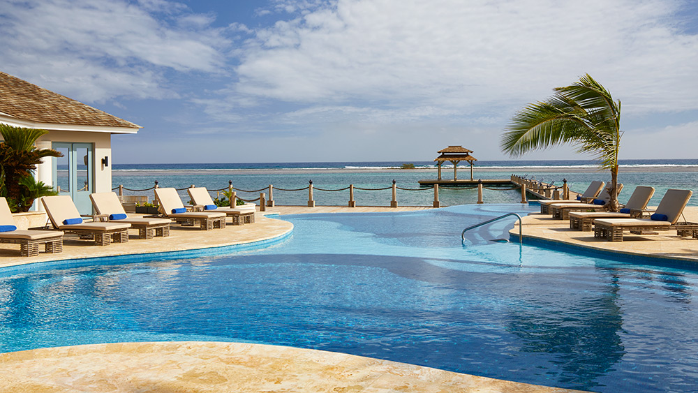 Infinity pool at Zoetry Montego Bay