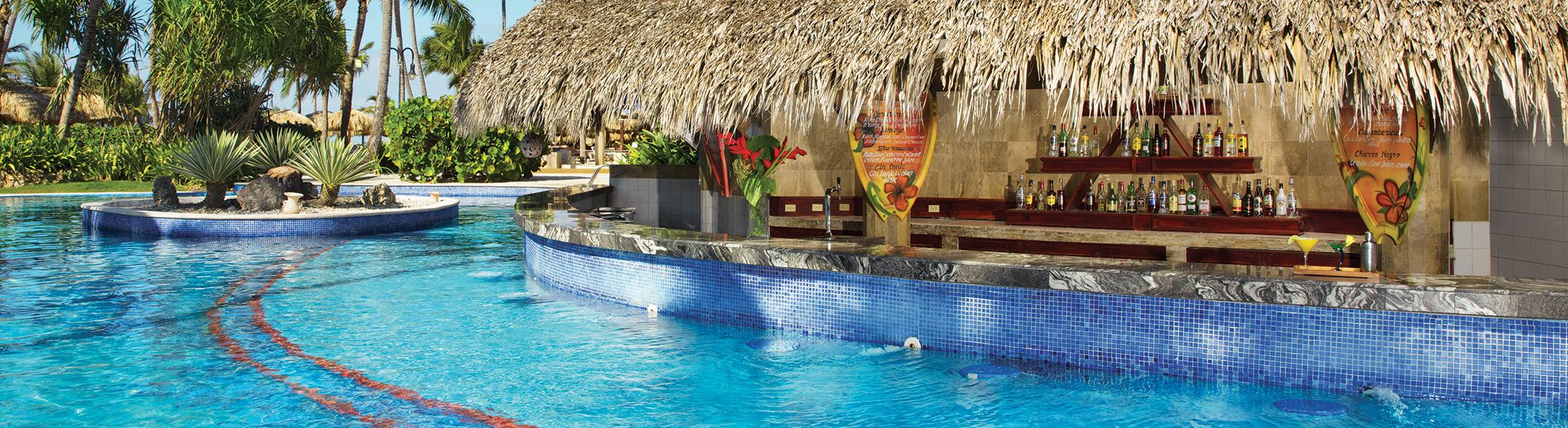Manatees Swim Up Bar at Dreams Punta Cana