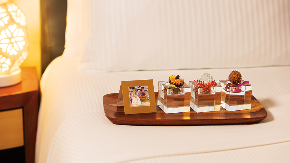 Chocolate turn down service at Zoetry Villa Rolandi Isla Mujeres